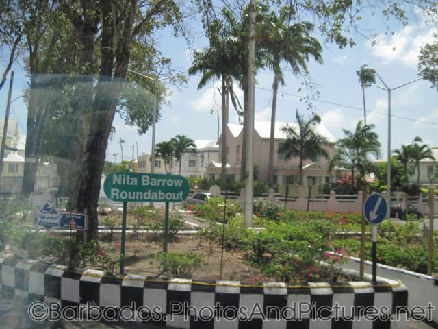 Nita Barrow Roundabout in Barbados.jpg