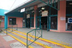 Customs area at Cruise Port Terminal in Bridgetown Barbados.jpg