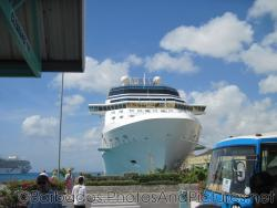 Celebrity Cruise ship docked at Bridgetown Cruise Terminal in Barbados.jpg