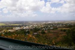 View of cruise ships in the distance from Gun Hill Signal Station in Barbados.jpg