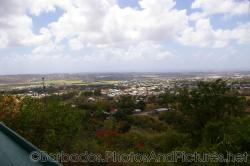Houses in the distance as viewdd from Gun Hill Signal Station in Barbados.jpg