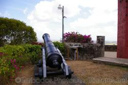 Canon at the base of Gun Hill Signal Station in Barbados.jpg