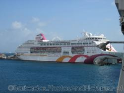Ocean Village Cruise Ship docked at Barbados.jpg