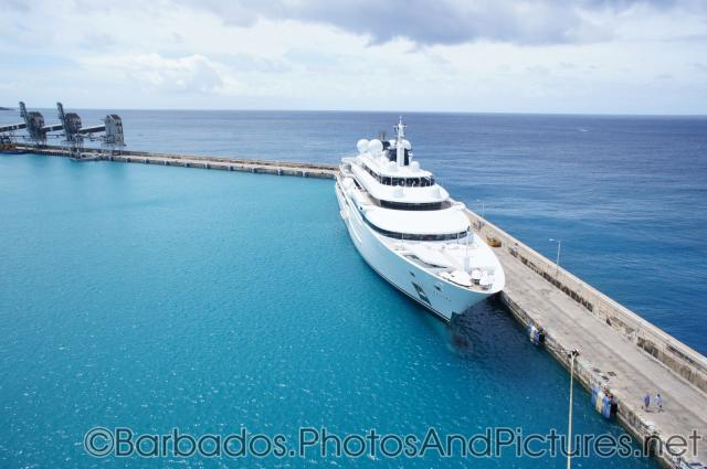 Large yacht docked at Bridgetown Barbados.jpg