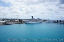 Carnival Victory cruise ship docked at Bridgetown Barbados.jpg